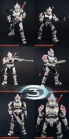 Custom Halo 3 Hayabusa Spartan by KyleRobinsonCustoms
