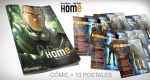 HOME Vol.1 en Verkami: Pack comic + 13 postales by RaulArnaiz