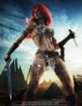 Red Sonja by PGandara