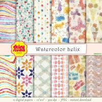 Tribal Digital Paper Pack dsg032 by daisyanderson