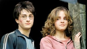 Azkaban: Harry and Hermione by superninjadeluxe