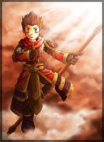 LoL - chibi Wukong by xzodust