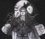 Alucard - Sketch without reference by Mad-Hatter----X