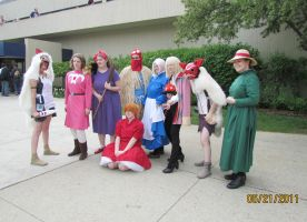 Studio Ghibli Photo-Shoot Anime Central 2011 by joshietakashima