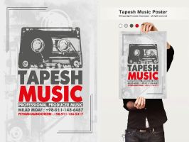 Tappesh Music by arsalan-design