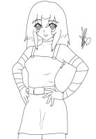 GR:Circe -lineart- by Coco-Apple