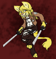 Attack on Moonhee by MetallicUmbrage