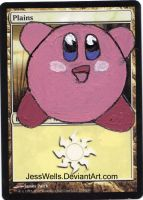 Altered Magic Card Kirby by JessWells