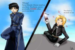 FMA- You're so short, you're INVISIBLE! by SweeT-GaL