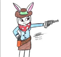 West lethal beauty Cybunny by dogberman
