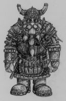 Dwarven Engineer by Sturgeonsurgeon14th