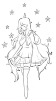 VOCALOID Meteor Lineart by About12Kittens