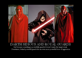 Sidious and Royal Guards by Winter-Phantom