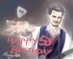 Johnny, Happy 53 Birthday! by DepplyLoveU