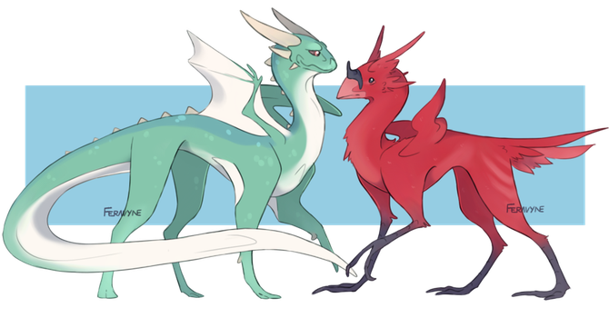 Evolving Creature Adopts [CLOSED] by Feravyne