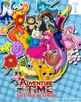 adventure time webcomic cover by MahouUsagiMomo
