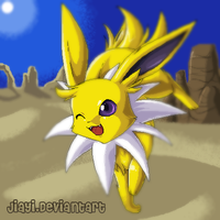 Desert Jolteon by Jiayi
