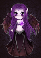 Chibi Morgana - League of Legends by linkitty