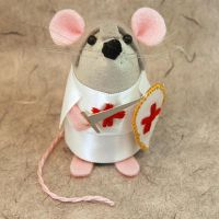 Knight Templar Mouse by The-House-of-Mouse