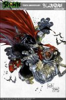 Spawn Cover Colored by sludger