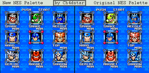 MM3 Stage Select Mugshot Remake by Ch4dStar