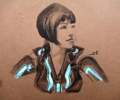 Tron_04 by Javier-Harriman