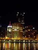 Pittsburgh Night 03 by MorganCG