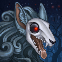 Skulldog Icon by Shadow-Wolf