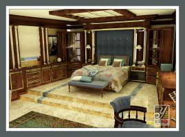 Yacht 1- master bedroom by sieliss