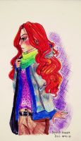 clary doodle by Albi777