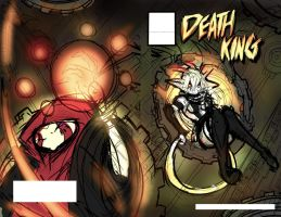 DEATH KING: Cover mockup updated by endshark
