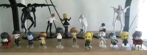 My Death Note Figurines by limxuxu09
