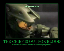 Chief Threat Demotivational by Sephirath21000