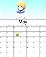 May Calendar 2015 by AskMMDYugi