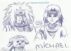 30th Bday Naruto envelope by MaguschildCloud