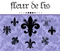 Fleur de lis PS brush by DFT-stock