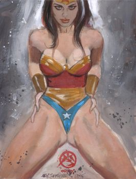 Wonder-woman-color-sketch by synthetikxs