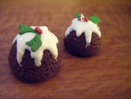 Christmas Puddings by Cinnamonster