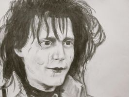Edward scissorhands by mandyart1