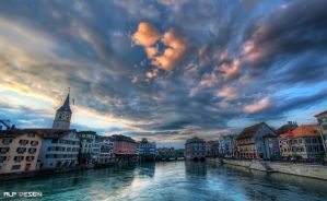 Zurich wallpaper by Alp-design