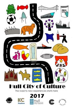 Hull City of Culture Poster by starkeygraphics