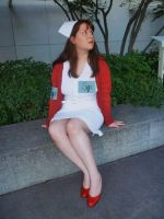 Red Nurse i by pianotheme