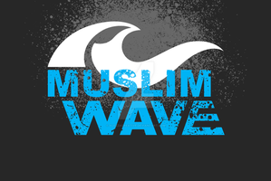 MUSLIM WAVE by alezzacreative