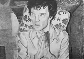 Sherlock - The Pose. by clareiow