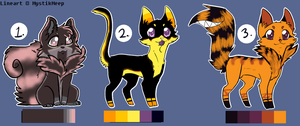 Mystikmeep Adopts 2 by KittenthePsycho