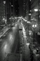 Streets of Chicago by kilroyart