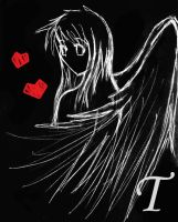 Angel-Dark shadow ver. by tina643211