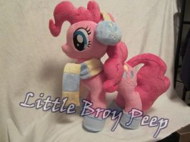 My little pony Pinkie Pie plush by Little-Broy-Peep