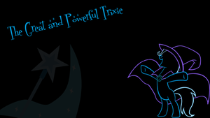 Trixie's Minimalist Wallpaper by Raizelmaxx