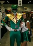 SailorJupiter and GreenRanger by NiaWaters